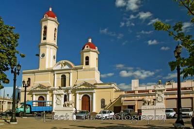 Parque Jose Marti.  Cienfuegos. Cuba.