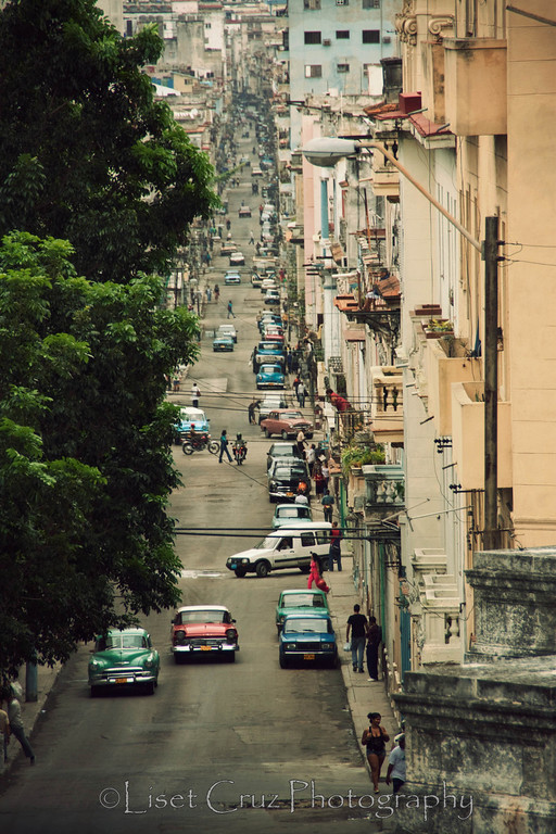 Street that goes from the University to Central Havana.