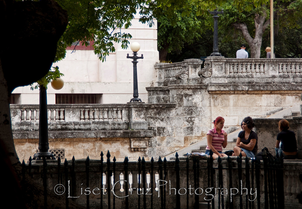 Students in Havana University.