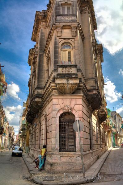 A peculiar building in Old Havana. Havana, Cuba.