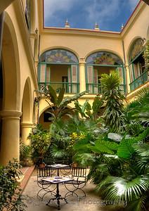 Casa del Conde de Villanueva is today a hotel.  Old Havana, Cuba.