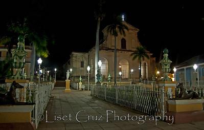 Plaza Mayor, Trinidad, Cuba.