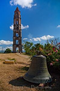 Torre Manaca-Iznaga in Trinidad, Cuba.