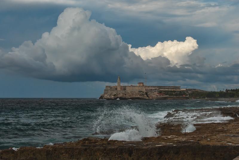 El Morro Fort in the Storm
