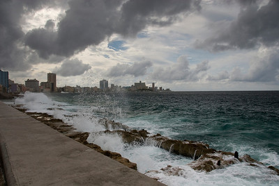 Storm along the Malecon