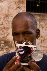 Street Vender, Plaza de San Francisco de Asis, Havana