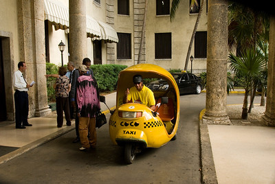 My second and last Coco Taxi, Hotel Nacional de Cuba, Havana