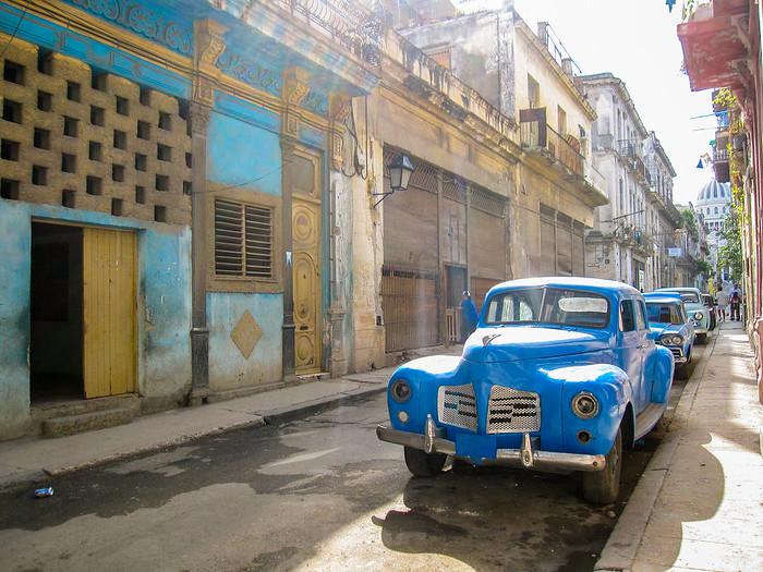 The colorful streets of Havana, Cuba