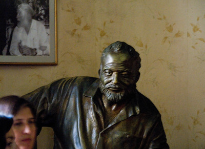 A Bronze Hemmingway, Flordita Bar, Havana