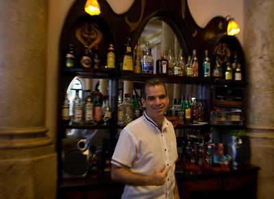 Bar Tender, Hotel Raquel, Havana