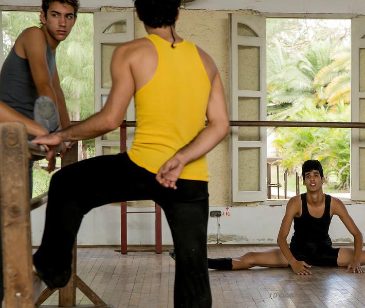 Ballet company, Cuba.