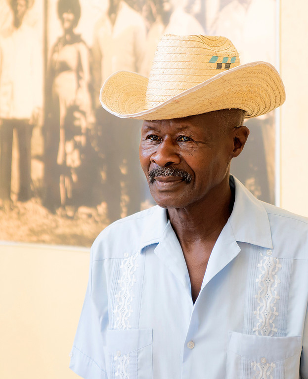 "Eduardo ""Pipi"" Goulet Lestapier, the famous traditional Changuicero (Changui singer and player). Changui music is a forerunner of modern salsa; it originated in eastern Cuba, but is popular throughout Cuba."
