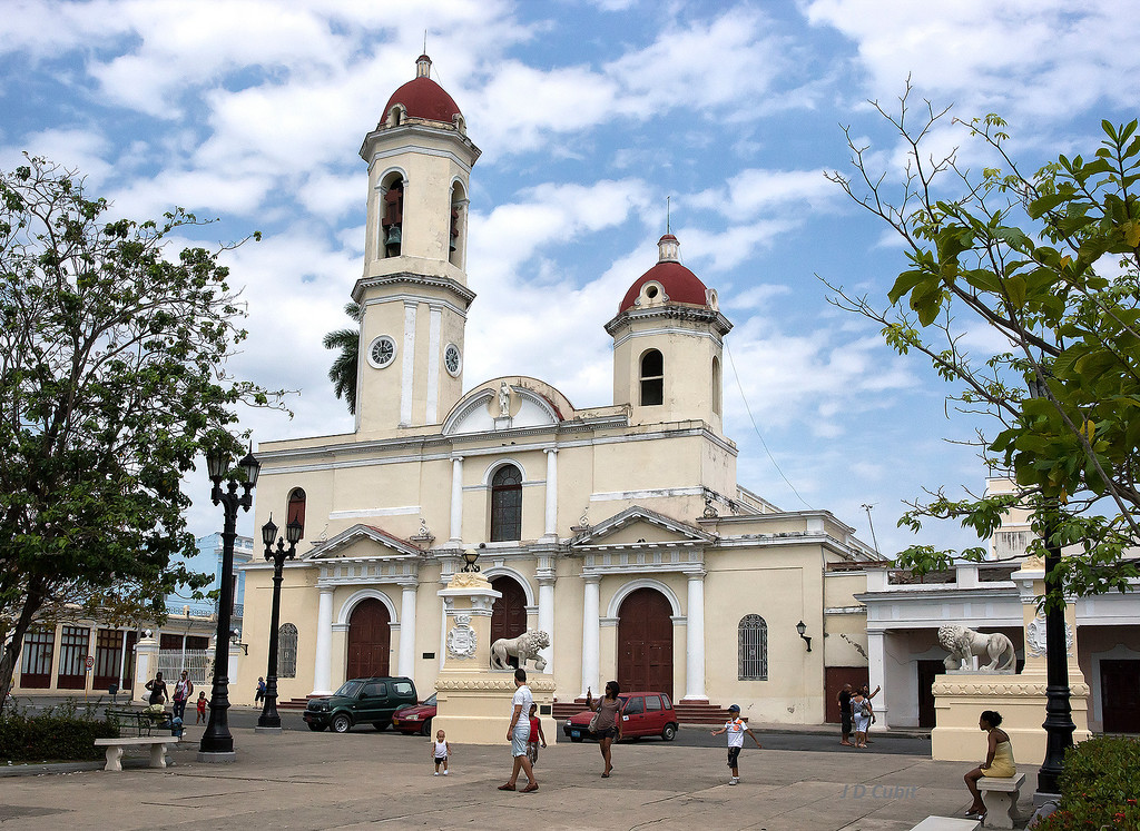 Cienfuegos, Cuba, one of the areas of strong French Haitian influence.