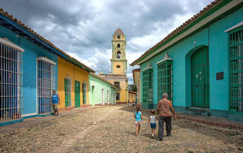 Trinidad de Cuba, one of the original Spanish settlements in Cuba and a UNESCO World Heritage Site.