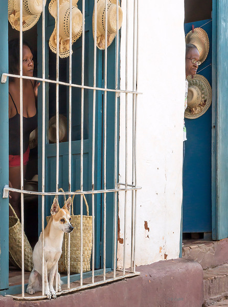 Small shop and private residence in Trinidad de Cuba.