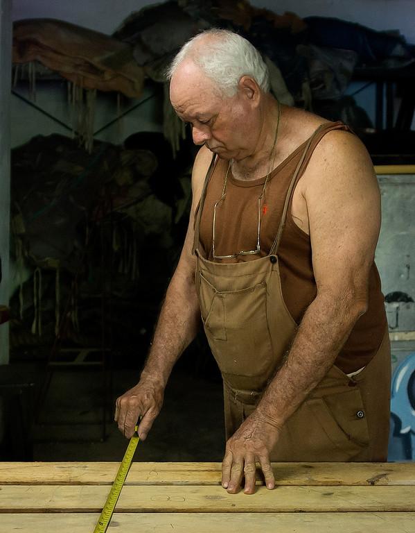 Set builder at a Cuban ballet company.