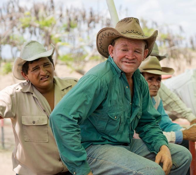 Vaqueros, rodeo event, King Ranch, Cuba