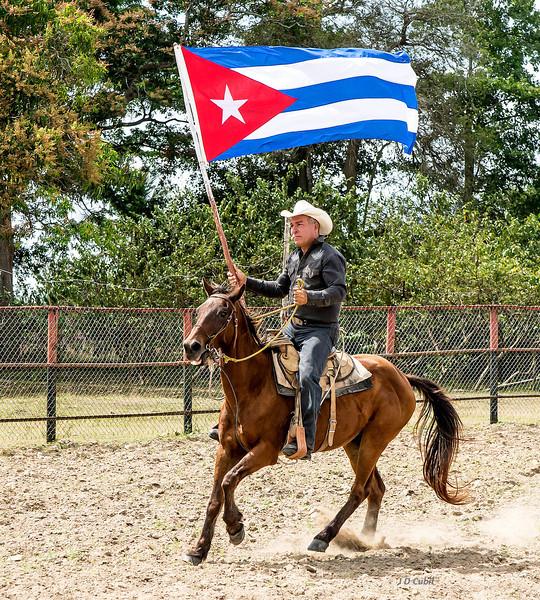 Rodeo start, King Ranch, Cuba