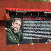 Insirational messages from Fidel or Raul are common