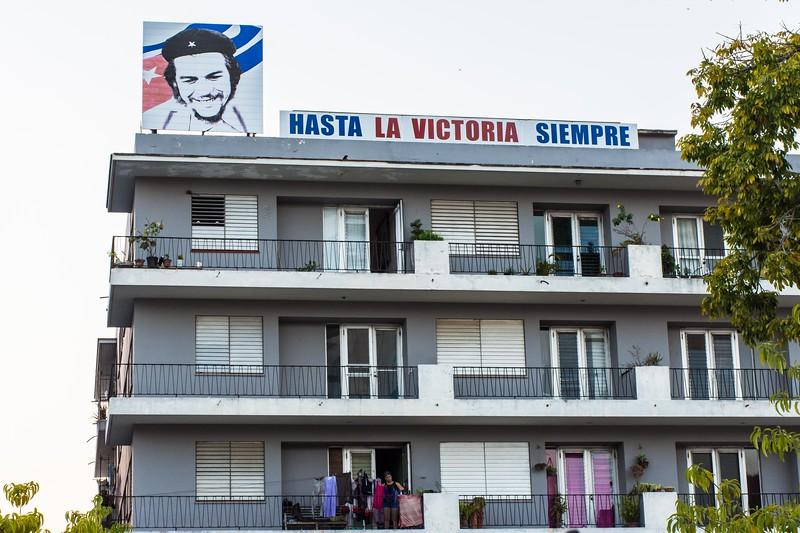 Portraits of Che are ubiquitous