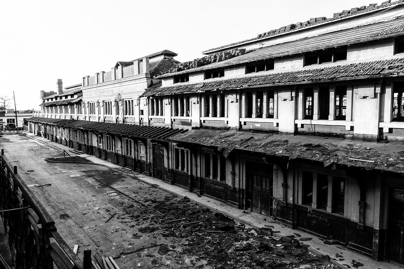 Old trainstation in Camaguey, due for major renovation
