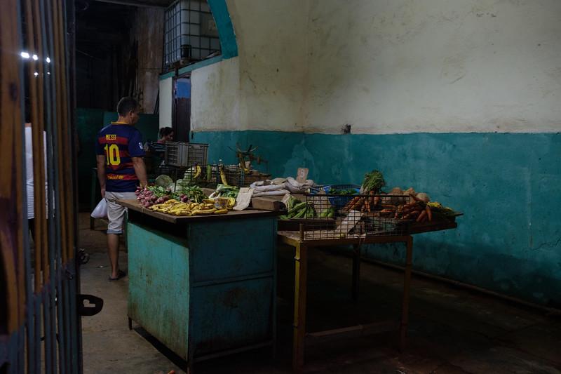a produce market
