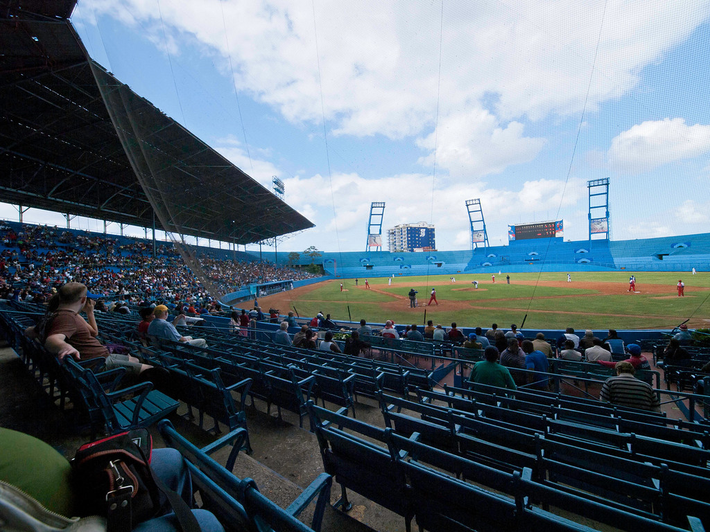 Major League Baseball - The Havana Industriales.