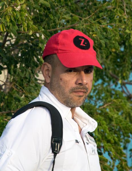 Our guide Essdras Suarez.