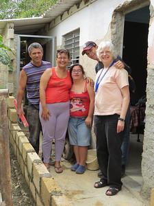 Jose, Liliana, Llanette, Alejandro and Jessica (fellow GV)