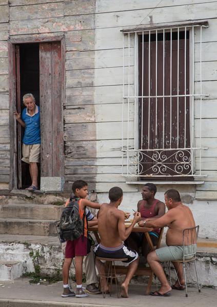 Dominos in the Street: Cienfuegos