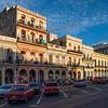 Streets and buildings of Havana, Cuba