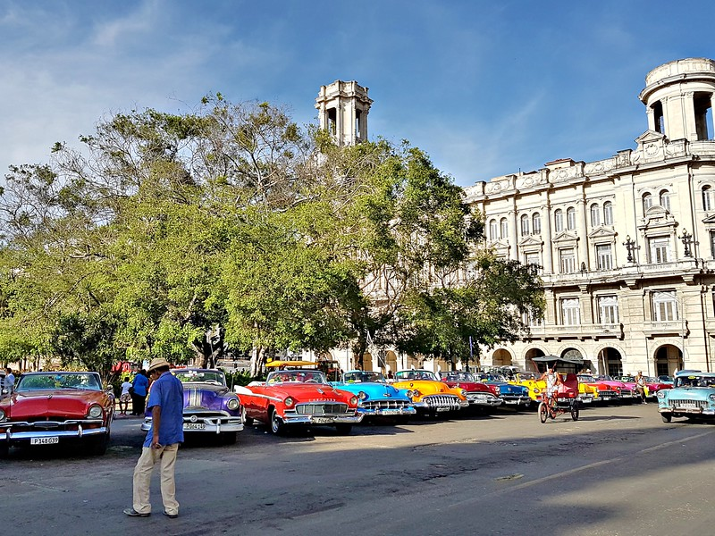 My trip to Cuba - Old Cars in Old Havana