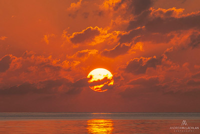 Sunrise on the Atlantic Ocean, Cayp Guillermo, Cuba