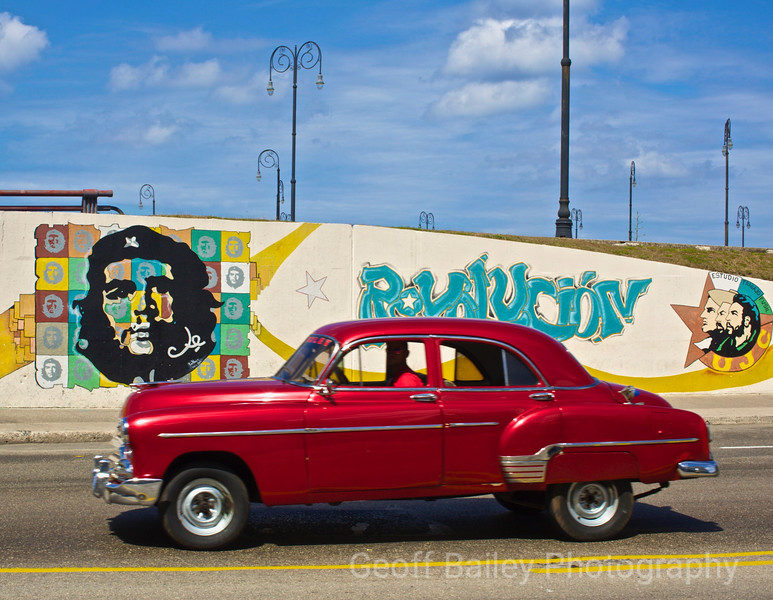 Che Guevara Red Car