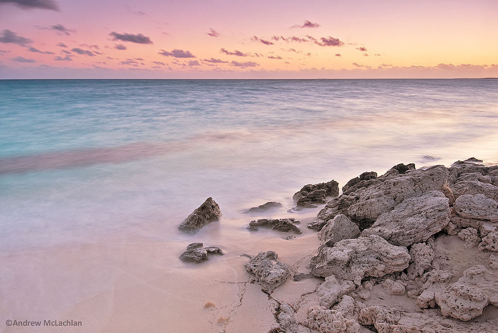 Daybreak on the Atlantic Ocean on Cayo Santa Maria