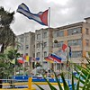 My trip to Cuba - Cuban Flag in Havana