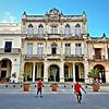Travels in Cuba - Plaza in Havana