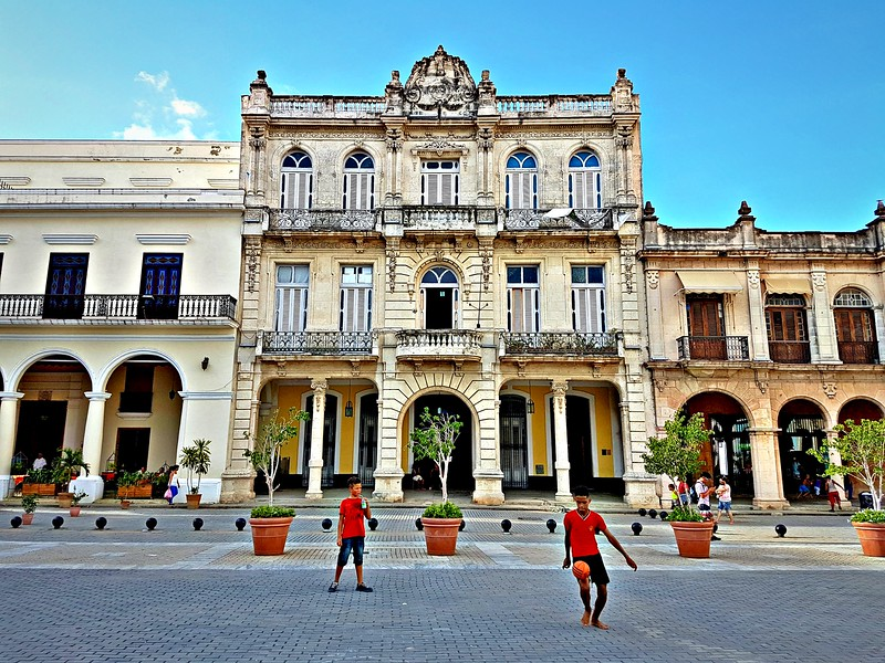 Travels in Cuba - Plaza in Havana