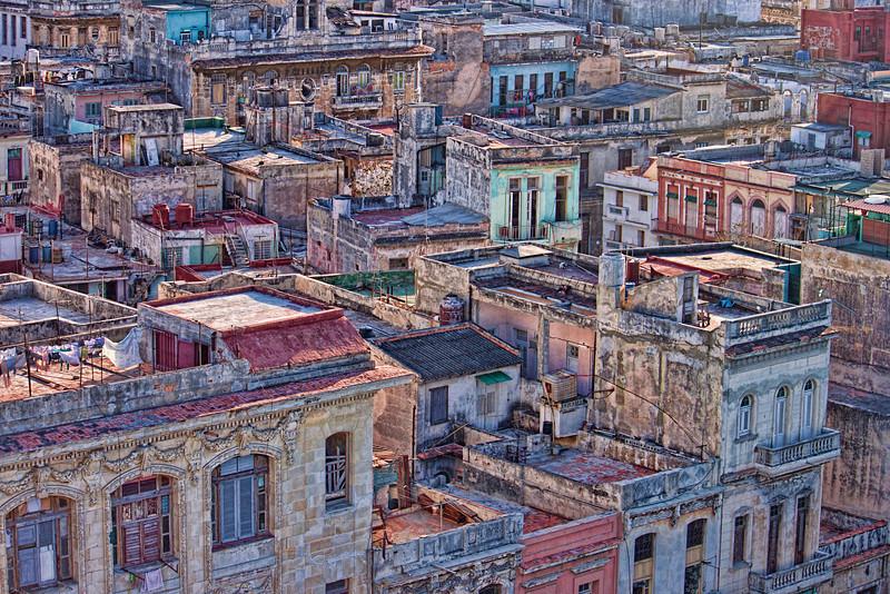 Colourful Buildings in Havana