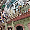 Travels in Cuba - Hanging Laundry in Havana
