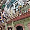 Travels in Cuba - Hanging Laundry in Havana