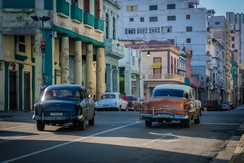 typical Cuban street scene.
