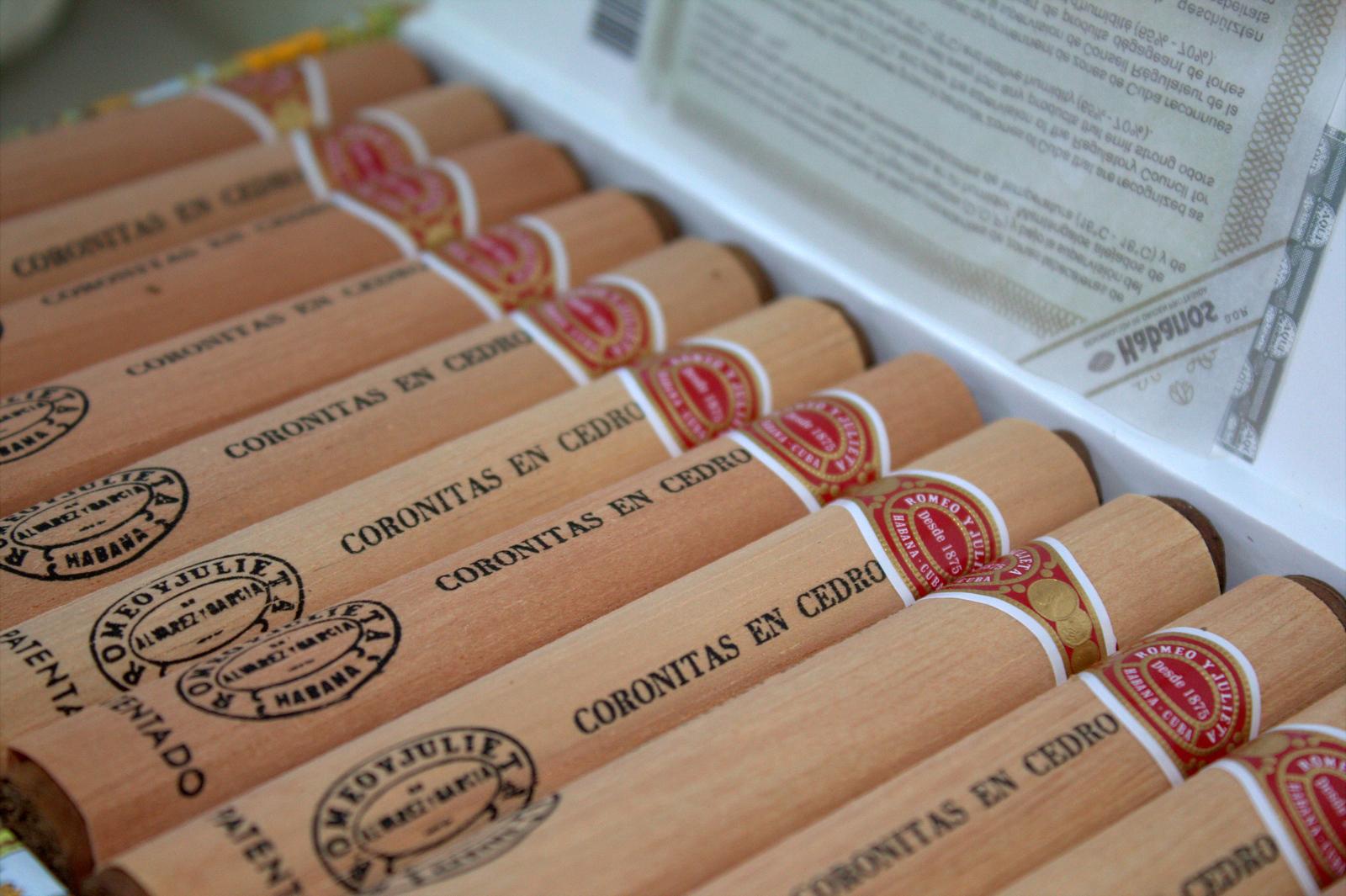 Romeo y Juliet cigars in Cuba