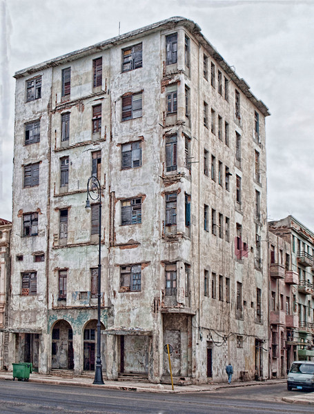 Tall Havana Building