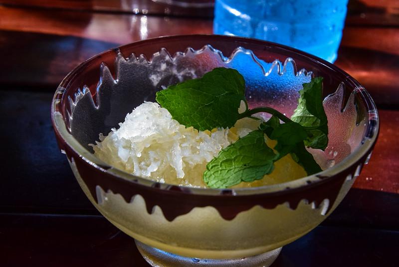 a very sweet coconut cream dessert!