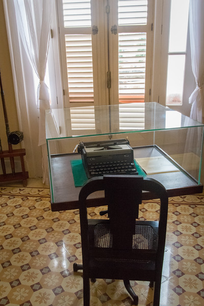 Ambos Mundos hotel where in 1932 a room on the 5th floor became the 'first home' in Cuba of writer Ernest Hemingway.