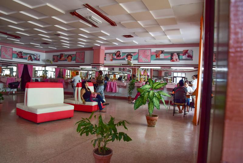 Hair and nail salon. Cienfuegos, Cuba