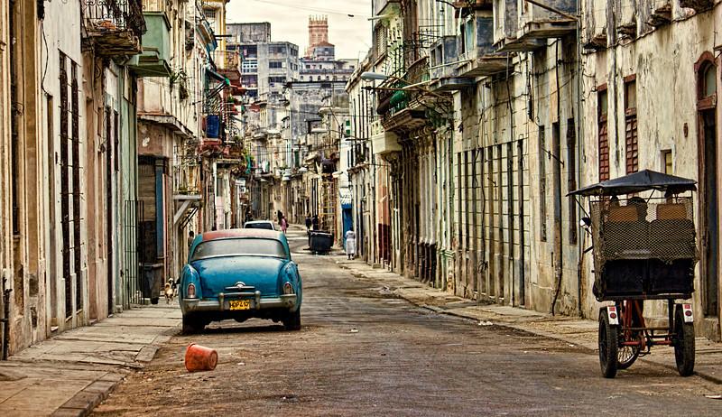 Havana Street Scene 2
