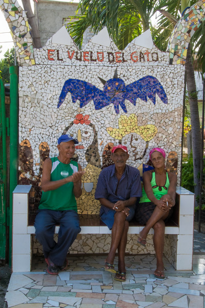 """Fusterlandia, as this neighborhood is called, is a vibrant arts complex named after its originator and chief creative force, Jose Fuster. A self-effacing, middle-aged painter and sculptor, Fuster is recognized as one of Cuba's most talented and iconic artists. In fact, many call him the """"Picasso of the Caribbean."""""""