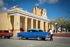 The colors of Plaza Mayor, Trinidad.